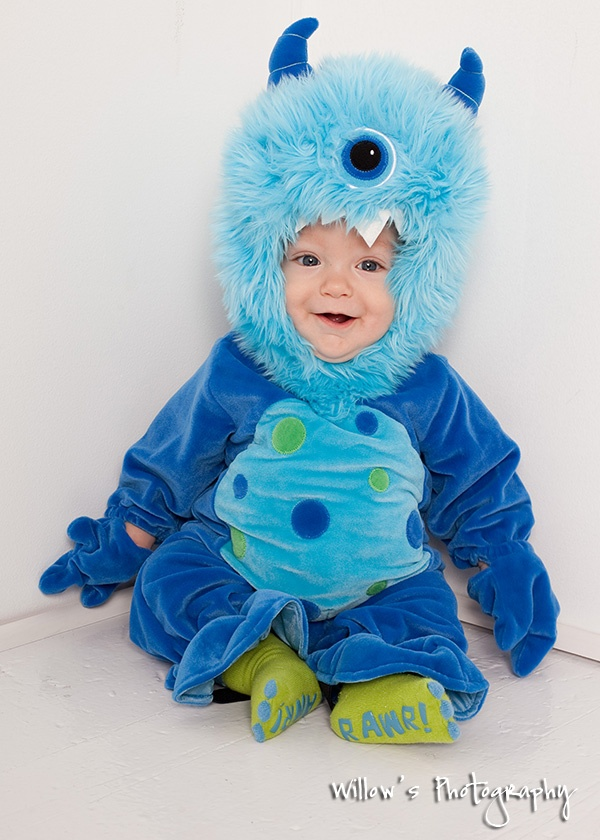 Cute Baby Monster Costume Elijah Going