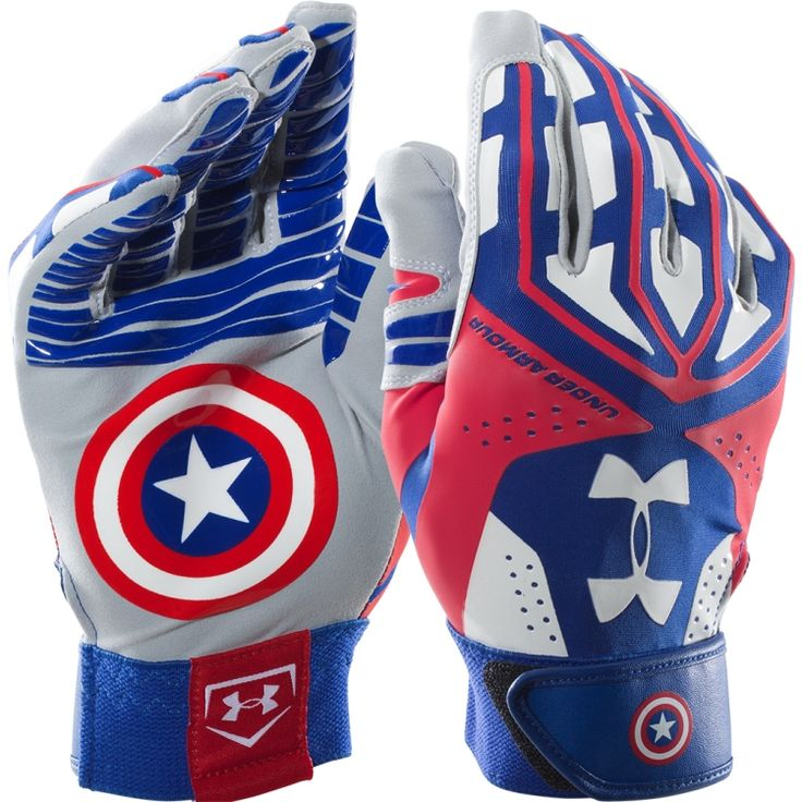 Under Armour Captain America Batting Gloves | DICK'S Sporting Goods