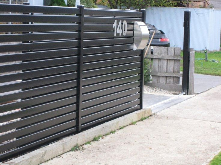 19 best fencing options images on pinterest aluminum fence modern house gates and fences designs modern trex gates and hardware workwithnaturefo