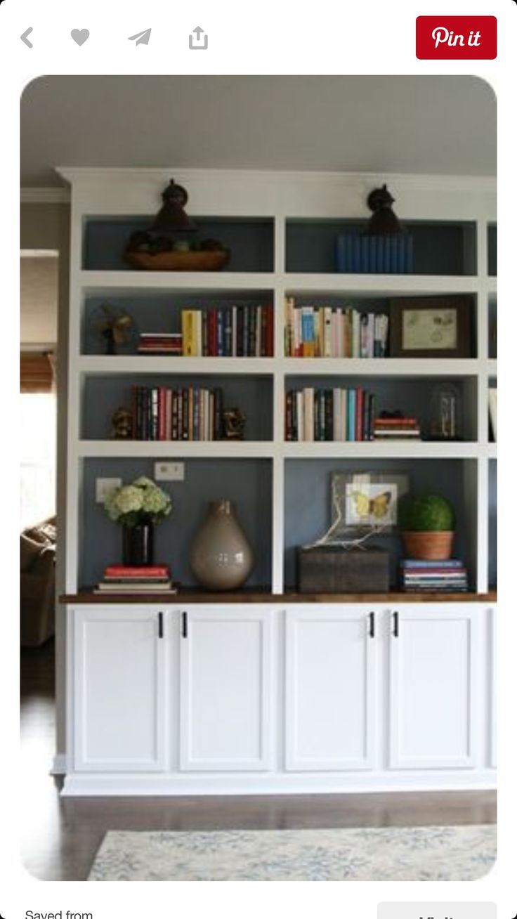 pinterest painted bookshelves likewise - photo #18