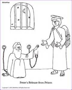 65 best images about peter escapes from jail on pinterest for Peter and john in jail coloring page