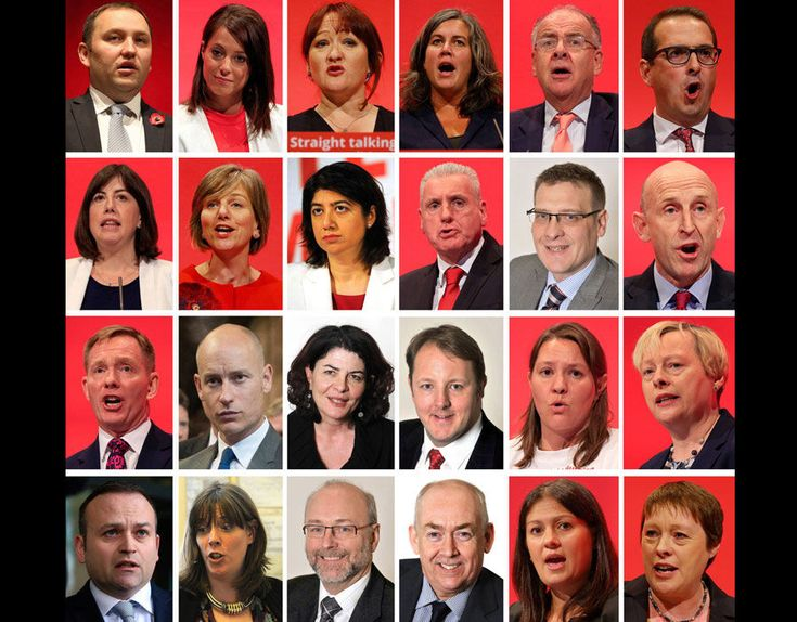 The members of Labour party's Jeremy Corbyn's shadow cabinet who have resigned…