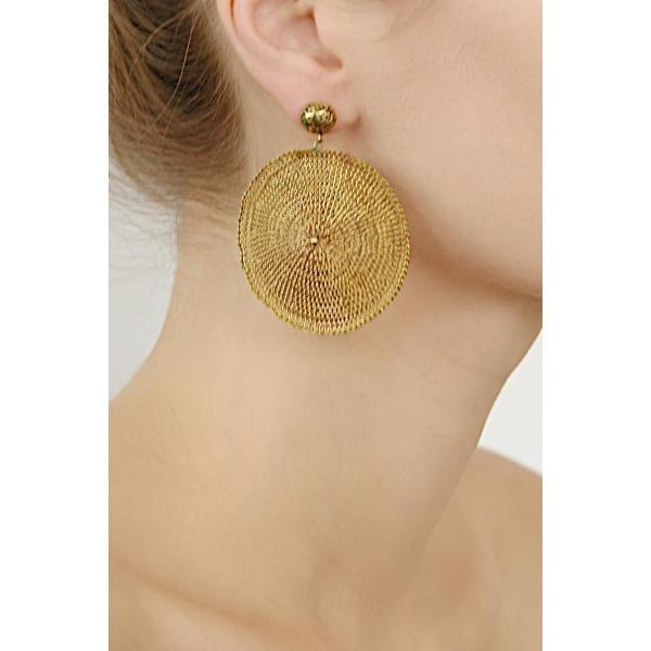 VEGA brass earrings | Milena ZU
