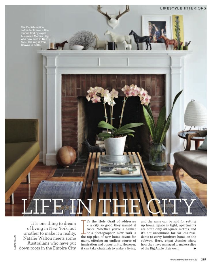 daily imprint: aussie homes in new york