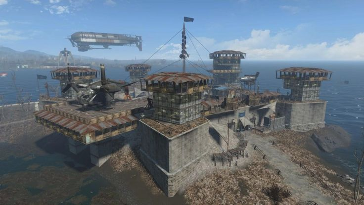 """For the game's first major expansion, """"Fallout 4"""" will almost certainly add to the """"settlement' system in the game (which enables building bases)."""