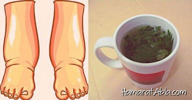 1.) Ayak şişliği tuzlu su tedavisi