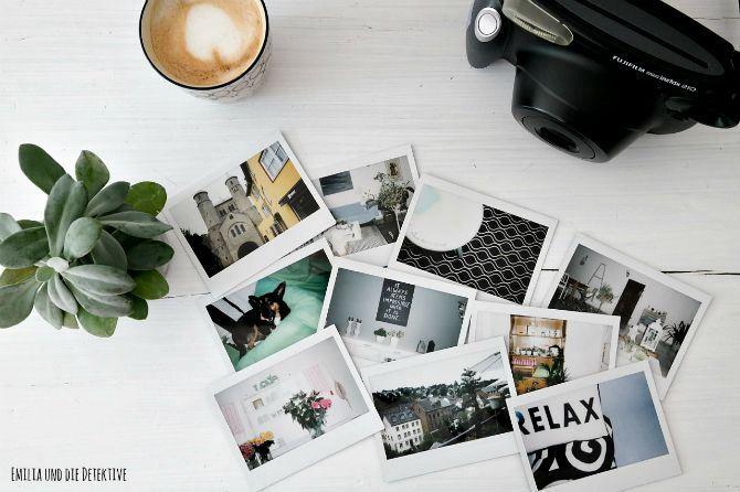 Testing Polaroid Kameras und Drucker
