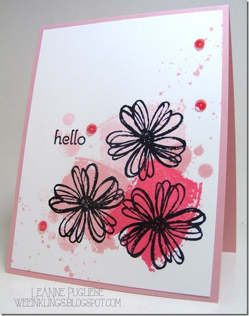 LeAnne Pugliese WeeInklings CAS Work of Art Flower Shop Stampin Up