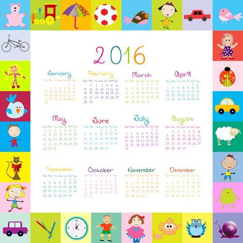 73 best Calendar  kalenteri images on Pinterest Kindergarten - sample cute calendar template