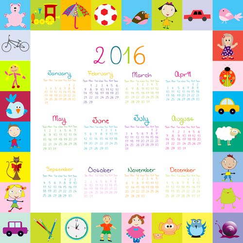 Kids Desk Calendar : Images about free printable calendars on