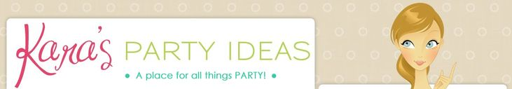 Absolutely OBSESSED with this party planner blog. SO many good ideas! Better than HWTM in my opinion.
