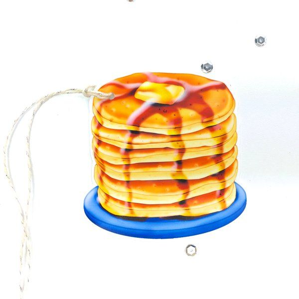 Syrup Pancake Gift Tags. 6 Large Pancake Stack Labels. Breakfast treat Gift Embellishments. Novelty Gift Tags. Fun gift tags. Food Tags. Make your Gift more interesting with these super cute Syrup Pancake stack Gift tags!  Add them to your favors and gifts, craft projects or give them away as gifts. #pancakes #syruppancakes #syrup #foodtags #giftatags #tags #handtags #partylabels #ihop