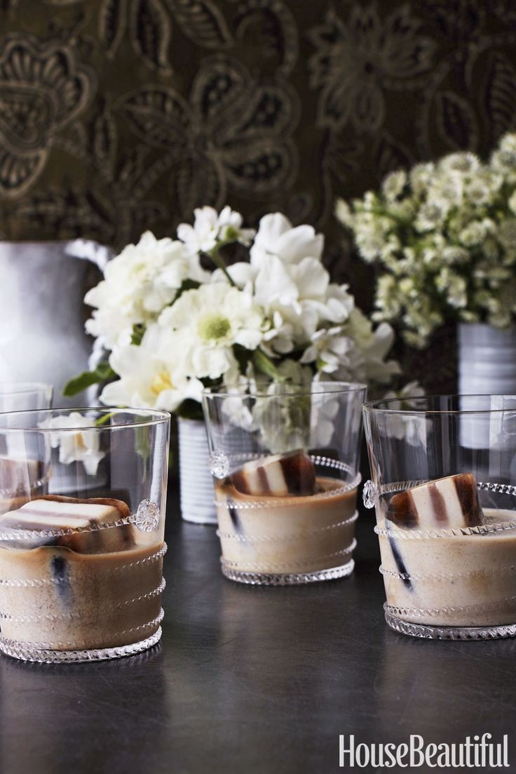 Perk Up Your Iced Coffee With These 5-Layer Mocha Cubes  - HouseBeautiful.com