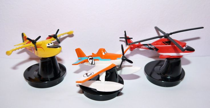 Cup Topper Figures Planes Full Set Collectible Movie Cups | eBay