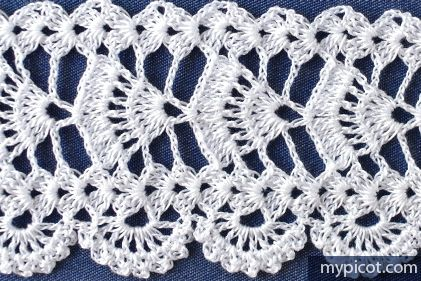 "MyPicot HOME WORK Free Pattern h021.pdf (Downloaded - SLT) Crochet patterns from ""HOME WORK"", ROSE PUBLISHING CO. (LTD.), 1881 ""Mikado Lace No. 57"""
