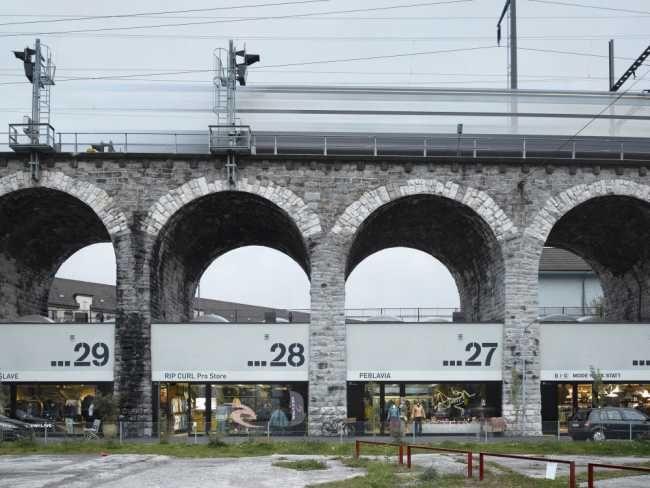 Autoři starého curyšského viaduktu mu dali důmyslnou a citlivou asanací novou tvář i obsah.