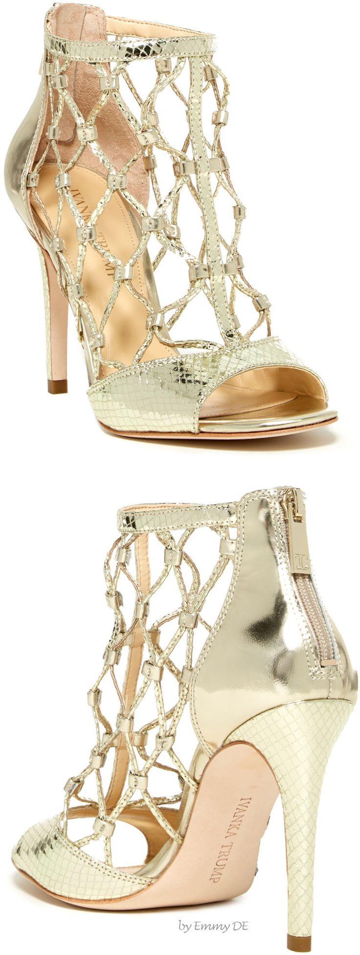 Emmy DE * Ivanka Trump Dalta Caged Dress Sandal