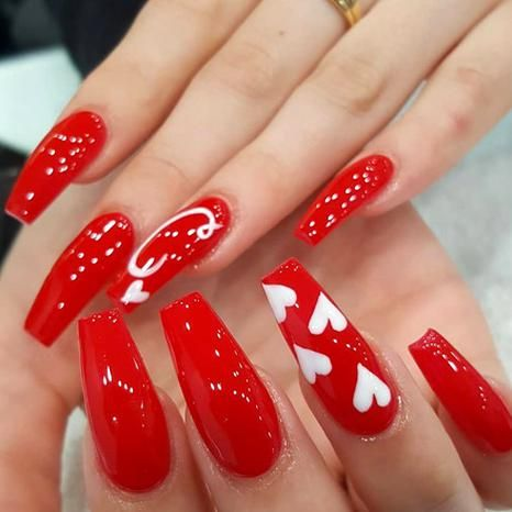 untitled in 2020  nail designs valentines valentine's