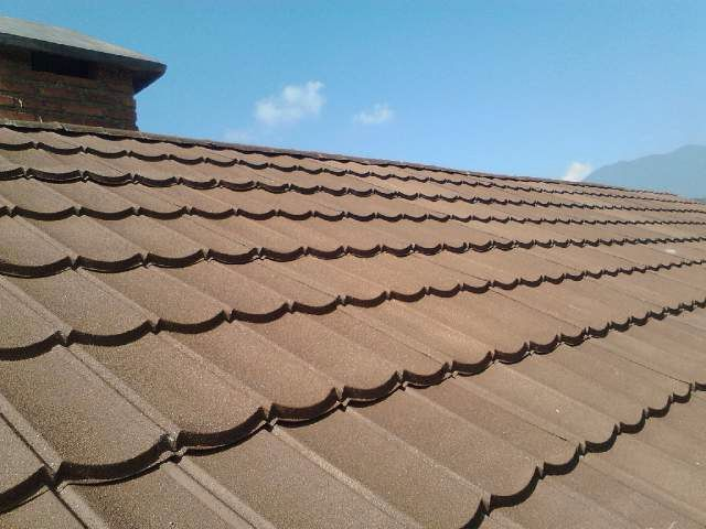 Nice Color from PVC Roof