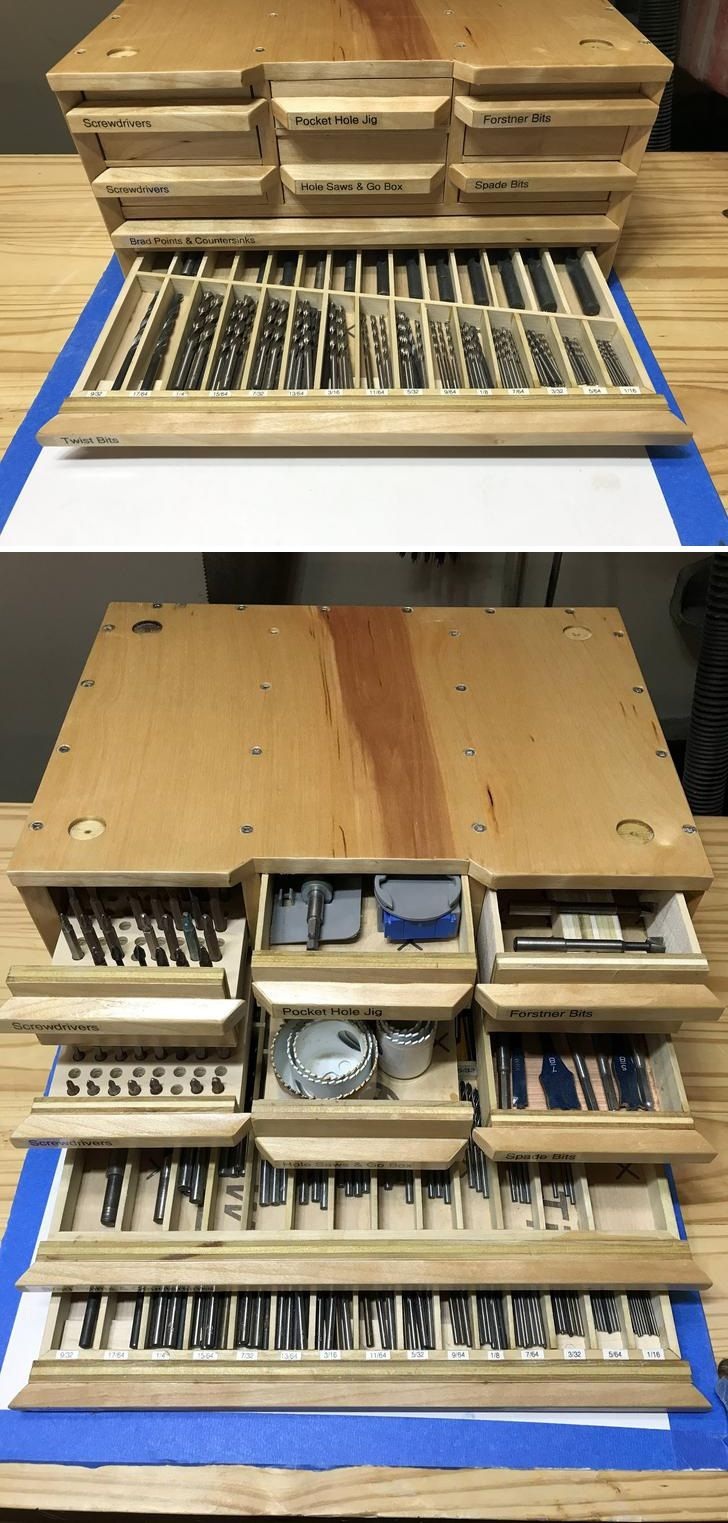 woodworking tool box