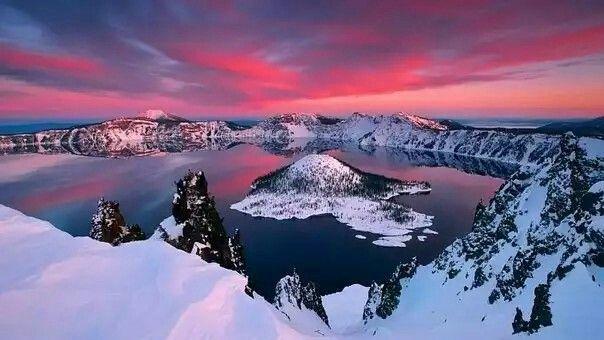 """Озеро """"Крейтер"""", штат Орегон ,США"""
