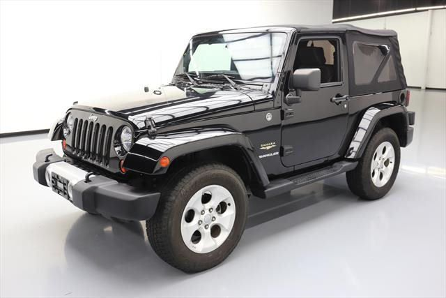 2013 Jeep Wrangler Sahara Sport Utility 2 Door 2013 Jeep Wrangler