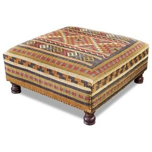 KILIM   Mediterranean Ottomans And Cubes by Interlude Home