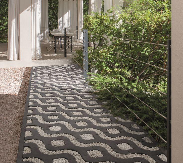 25 beste idee n over kiezel terras op pinterest tuin make over wijnvat plantenbak en wijnvat - Dek een terras met tegels ...