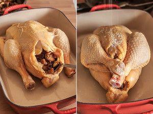 pollo relleno Más