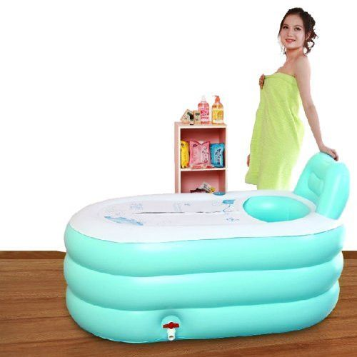 Fashion Adult SPA Inflatable Bath Tub With Electric Air Pump Portable  Bathtub