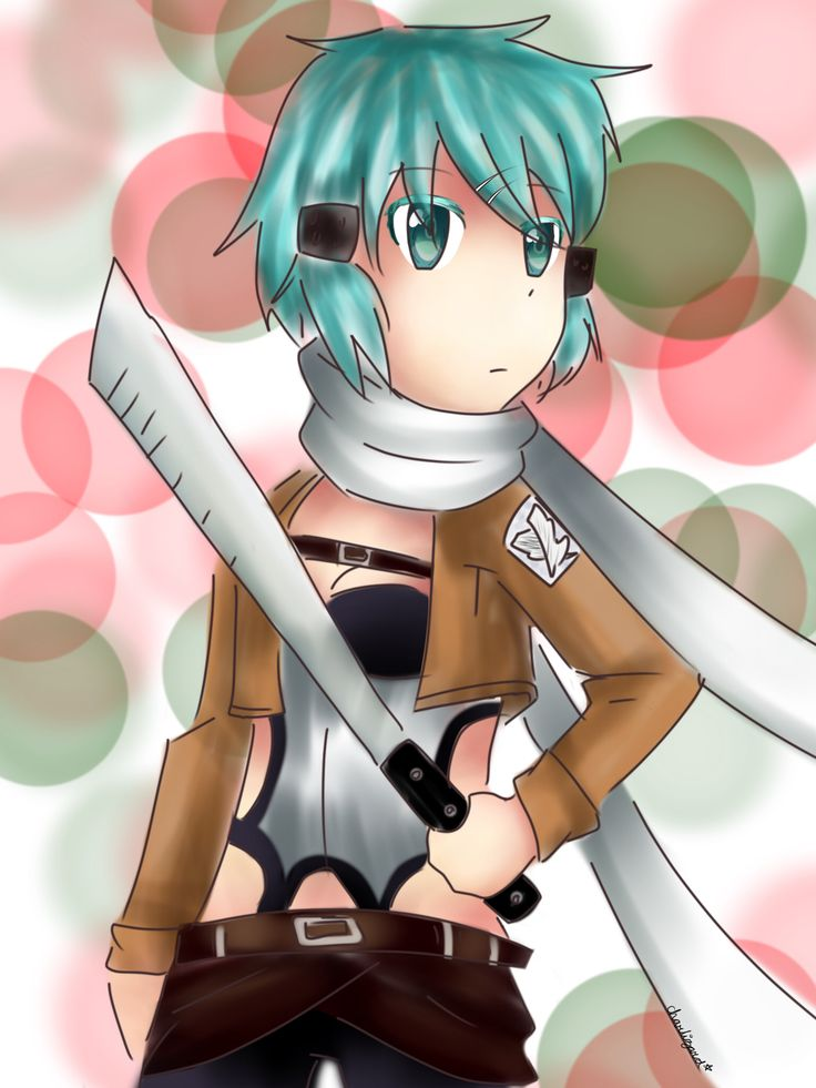 sinon as a scout (redraw)