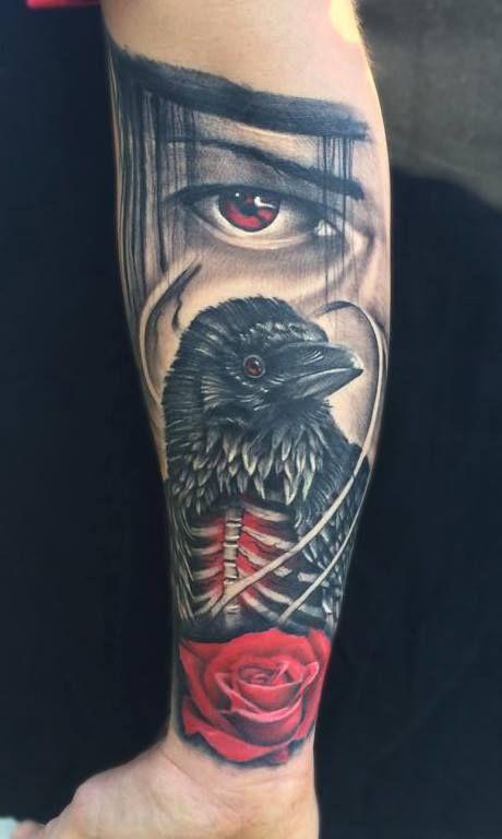 Najbardziej popularne znaczniki tego obrazu obejmują: itachi, naruto i tattoo
