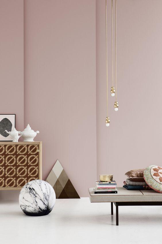 Wohninspiration – Lieblingsfarbe Rosa – Style. Decoration Trends 2016