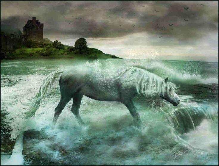 Mythical water horses - photo#12