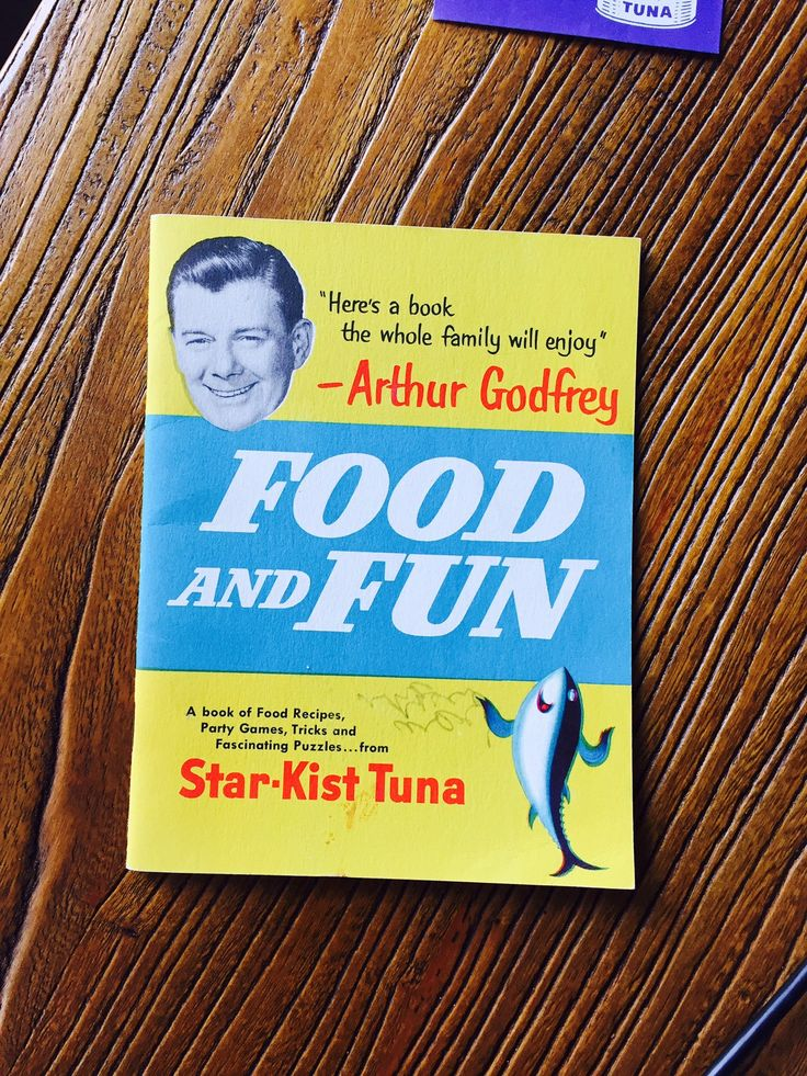 "Vintage 1953 Arthur Godfrey Star-Kist Tuna ""Food and Fun"" Booklet by missenpieces on Etsy"