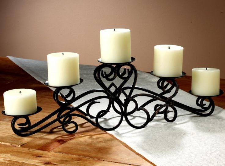 Drawing of Creative and Stunning Candle Centerpieces for Tables