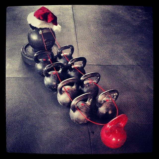 Kettlebells are coming to town... #Crossfit
