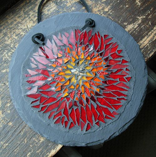 Red Orange Flower Mandala by Margaret Almon | Commission you… | Flickr