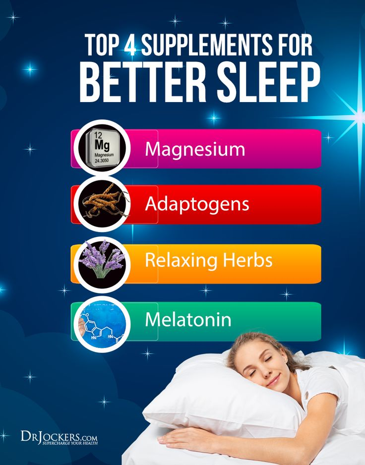 Top 4 Supplements to Improve Sleep - DrJockers.com