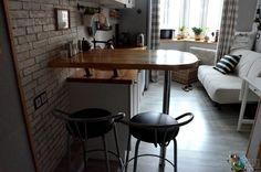 Барная стойка на кухне, уютная кухня фото