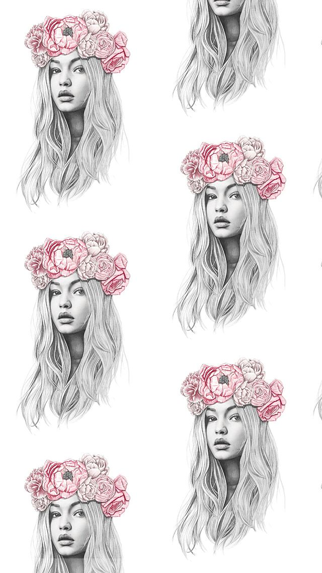 Gigi Hadid - Tap to see more of the best background whatsapp wallpaper! @mobile9