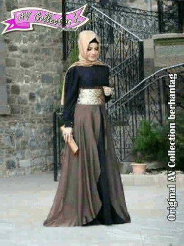 Amanda Hijab I Busana Muslim Terbaru I trend busana muslim | Imelfashionshop