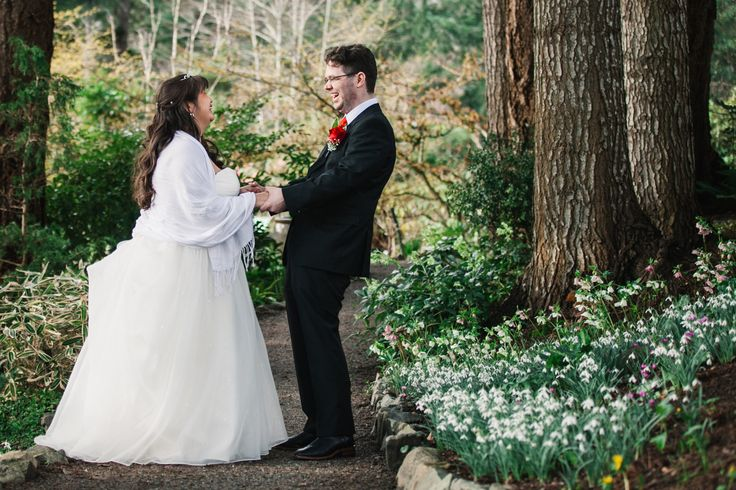 Winter Wedding at the Gardens at HCP. Image by Moonrise Photography http://www.moonrise.ca/