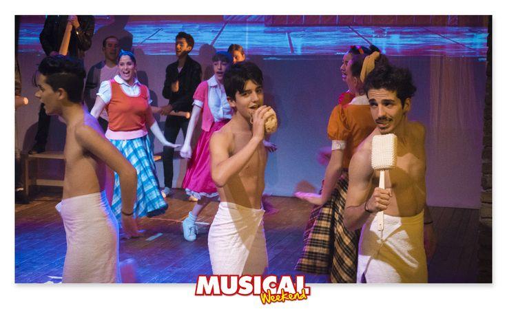 """Bravi e divertenti i ragazzi di #MusicalWeekend Roma nello spettacolo """"Noi stiamo insieme"""". #brillantina #grease"""