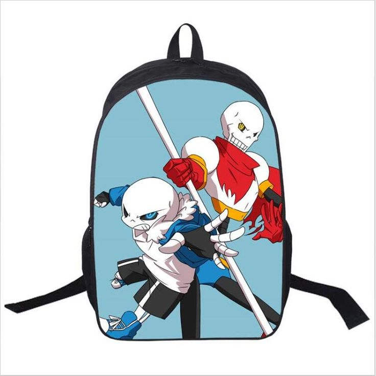 Hot Game Undertale Children Book Bag Cartoon School Bags For Teenagers Women Men Travel Backpacks Daily