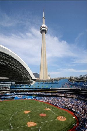 """This will always be the Sky Dome to me and nothing beats a ball game when the roof is open!"""
