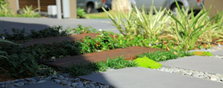 Unique pathway – landscaping in Sydney