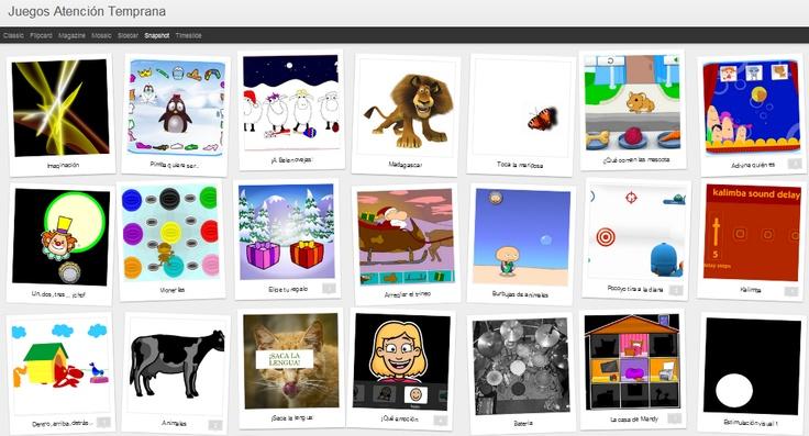 Per no perdre el costum, des del bloc Etapa Educación Infantil he descobert Juegos Atención Temprana, un bloc ple de jocs que, sobretot ens seran útils per aquells infants amb dificultats d'aprenentatge, trastorns de creixement i desenvolupament. (...) *Segueix llegint a http://educacioilestic.blogspot.com.es/2012/01/juegos-atencion-temprana-aprenem-jugant.html