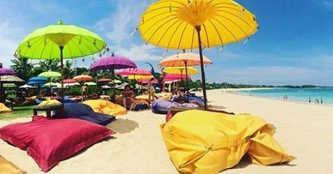 WEBSTA @ ayodyabali - Wishing you one colorful day. #almostweekend #beachbar #ayodyabeachbar #travel #bali : @dutimacyola