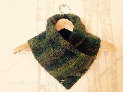 AS-kartelut: Virkattu kauluri #crochet #collar